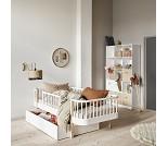 Wood hvit sengeskuff fra Oliver Furniture