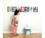 Plakat og klistremerker, sirkus - Poppik