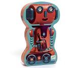 Puslespill, robot, 36 brikker - Djeco