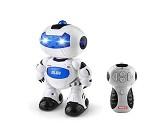 Robot med lys GLOB, 24 cm