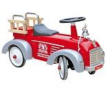 Rød brannbil sittebil - Baghera
