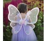 Rosa sommerfuglvinger, kostymetilbehør