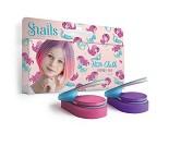 Fargekritt til hår, lilla og rosa - Snails