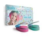 Fargekritt til hår, rosa og grønn - Snails