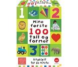 Mine første 100 tall og former, bingospill