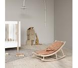 Vippestol til baby og junior, eik/brun, Wood