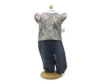 Bukse og bluse, dukkeklær, 33-37 cm