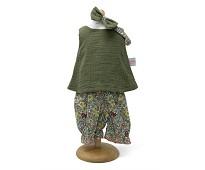 Tunika, bukse og hårbånd, dukkeklær, 33-37 cm