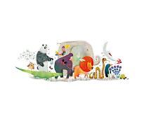 Animal parade, puslespill 36 biter - Djeco
