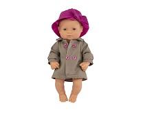 Jentedukke med klær, 32 cm - Miniland