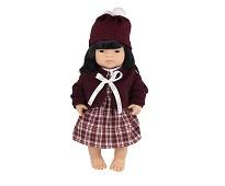 Jentedukke med klær, 38 cm - Miniland