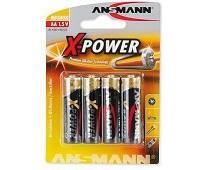 Batteri AA, Alkaline Xpower - 4 stk