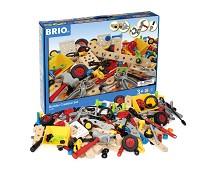 Builder, byggesett, 271 deler - BRIO