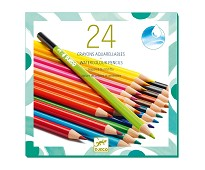24 akvarellblyanter - Djeco