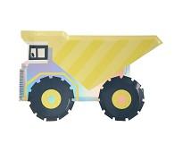 Papptallerkener kjøretøy, 8 stk - Meri Meri
