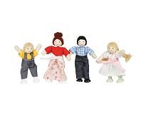 Familie på fire, dukker til dukkehus - Le Toy Van