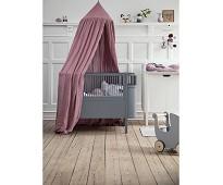 Grå seng til baby og junior, Sebrasengen - Sebra