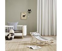 Vippestol til junior, eik/grå, Wood
