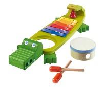 Krokodilleformet metallofon, instrument - Haba