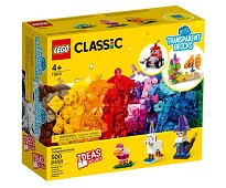 LEGO Classic Gjennomsiktige klosser 11013