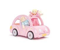 Sophies bil, dukkehustilbehør i tre - Le Toy Van