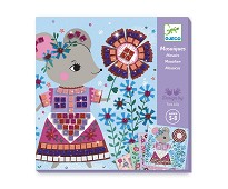 Mosaikksett med kjæledyr - Djeco