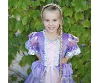 Lys Rapunzel-flette, kostymetilbehør