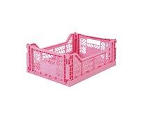 Foldbar oppbevaringskasse Baby pink 40x30 - Aykasa