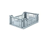 Foldbar oppbevaringskasse Pale blue 40x30 - Aykasa