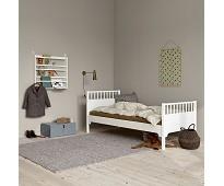 Seaside hvit enkelseng fra Oliver Furniture