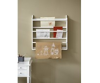 Hvit tallerkenhylle fra Oliver Furniture
