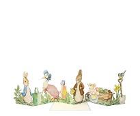 Papirrad med Petter kanin, kort fra Meri Meri