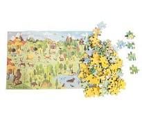 Puslespill, skogen, 96 brikker - Moulin Roty