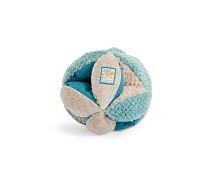 Ball med ulike teksturer, blå - Moulin Roty