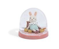 Snøkule med kanin - Moulin Roty