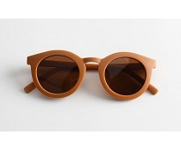 Solbriller til barn, brun - Grech & Co