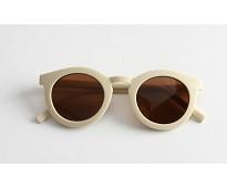 Solbriller til voksen, kremhvit - Grech & Co