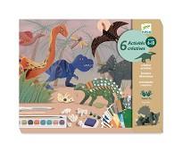 Stort hobbysett med dinosaurer - Djeco