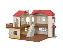 Stort hus med lys - Sylvanian Families