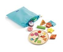 Spill, gjenkjenn former - Djeco