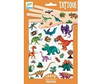 Tatoveringer med dinosaurer - Djeco