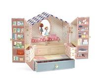 Smykkeskrin med ballerina, klesbutikk - Djeco