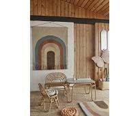 Veggteppe med fargerik regnbue - OYOY