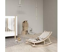 Vippestol til baby og junior, eik/natur, Wood