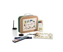 Koffert med akvarellmaling - Moulin Roty