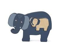 Puslespill med elefant - Trixie