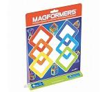 Magformers, magnetiske klosser, 6 deler