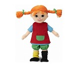 Pippi-dukke - 30 cm
