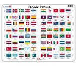 Pusleplate, flagg
