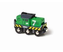 Batteridrevet godslokomotiv - BRIO
